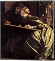 Painter's Honeymoon, about 1864 Fine Art Print