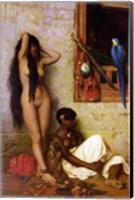 The Slave for Sale, 1873 Fine Art Print
