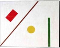 Suprematist Composition, 1915 (detail 2) Fine Art Print
