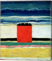 Red House, 1932 Fine Art Print