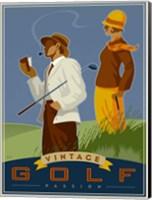 Vintage Golf - Passion Fine Art Print