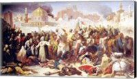 Taking of Jerusalem by the Crusaders Fine Art Print