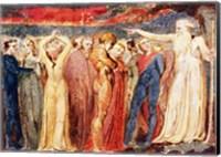 Joseph of Arimathea preaching to the inhabitants of Britain Fine Art Print