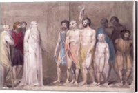 St. Gregory and the British Captives Fine Art Print