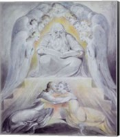 Mercy and Truth are met together, Righteousness and Peace have kissed each other Fine Art Print