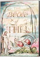 The Book of Thel; Title Page, 1789 Fine Art Print