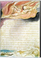 The Marriage of Heaven and Hell; As a new heaven is begun, c.1790 Fine Art Print