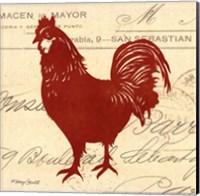 Tuscan Rooster II Fine Art Print