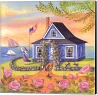 Seafarer Cottage Fine Art Print