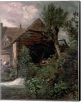Watermill at Gillingham, Dorset Fine Art Print