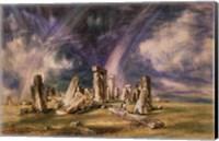 Stonehenge, 1835 Fine Art Print