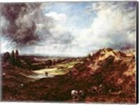 Branch Hill Pond, Hampstead Heath, 1828 Fine Art Print