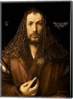 Self Portrait at the Age of Twenty-Eight, 1500 Fine Art Print