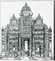 The Triumphal Arch of Emperor Maximilian I of Germany Fine Art Print