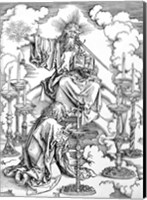 The Vision of The Seven Candlesticks from the 'Apocalypse' Fine Art Print