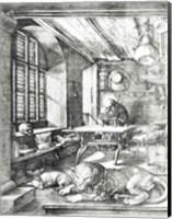 St. Jerome in his Study, 1514 Fine Art Print