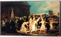 Procession of Flagellants, 1815-19 Fine Art Print