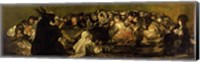 The Witches' Sabbath (panel) Fine Art Print