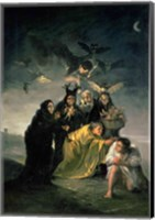 The Witches' Sabbath Fine Art Print