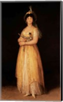 Portrait of Queen Maria Luisa Fine Art Print