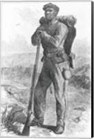 The Escaped Slave in the Union Army Fine Art Print