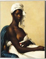 Portrait of a Negress Fine Art Print