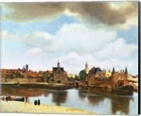 View of Delft Fine Art Print