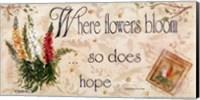 When Flowers Bloom Fine Art Print