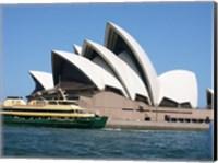 Sydney Opera House with Sydney Ferry Collaroy Fine Art Print