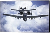 Fairchild A-10 Thunderfird Anti-Tank Bombers Fine Art Print