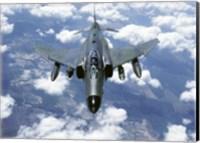 McDonnell Douglas  F-4E Phantom II  Jet Fighter Fine Art Print