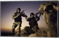 SWAT Team United States Military Fine Art Print