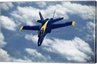 Blue Angels F-18 Hornet Fine Art Print