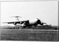 Military airplane taking off, C-5 Galaxy Fine Art Print