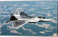 Lockheed Martin F-22 Fine Art Print