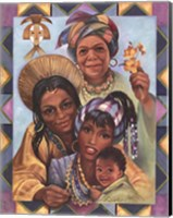 Generations of Women Fine Art Print
