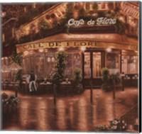 Cafe De Flore Fine Art Print