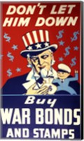 Buy War Bonds and Stamps Fine Art Print