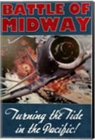 Battle of Midway Fine Art Print