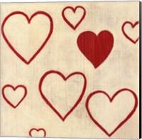 Best Friends- Hearts Fine Art Print