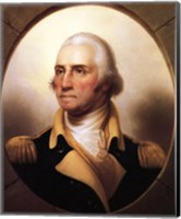 Portrait of George Washington Fine Art Print
