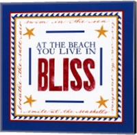 Beach Bliss Fine Art Print