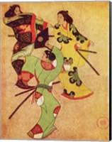 Iwasa Katsushige samurai Fine Art Print