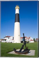 Absecon Lighthouse Museum, Atlantic County, Atlantic City, New Jersey, USA Fine Art Print