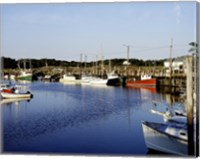Orleans harbor, Cape Cod, Massachusetts Fine Art Print