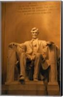 USA, Washington DC, Lincoln Memorial Fine Art Print