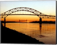 The Bourne Bridge over the Cape Cod Canal Fine Art Print