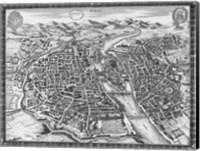 1630 Plan de Sauv Fine Art Print