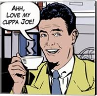Java comic II - mini Fine Art Print