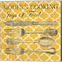 Modern Cooking Fine Art Print